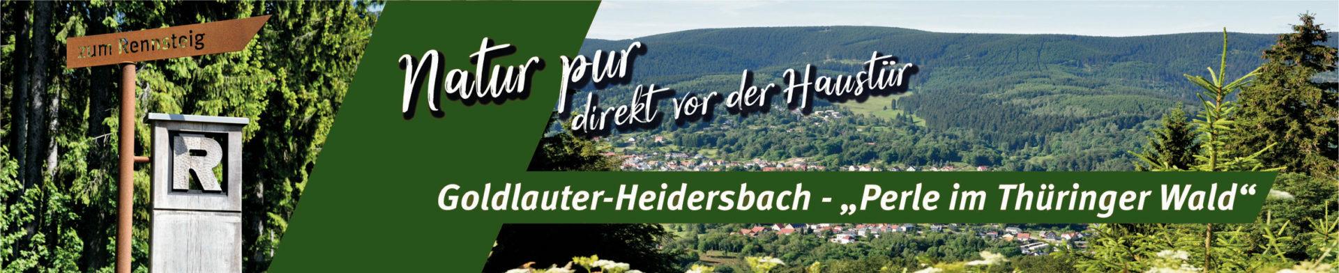 "Goldlauter-Heidersbach - ""Perle im Thüringer Wald"""