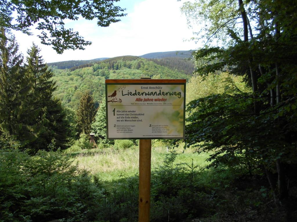 """Tafel """"Liederwanderweg"""""""