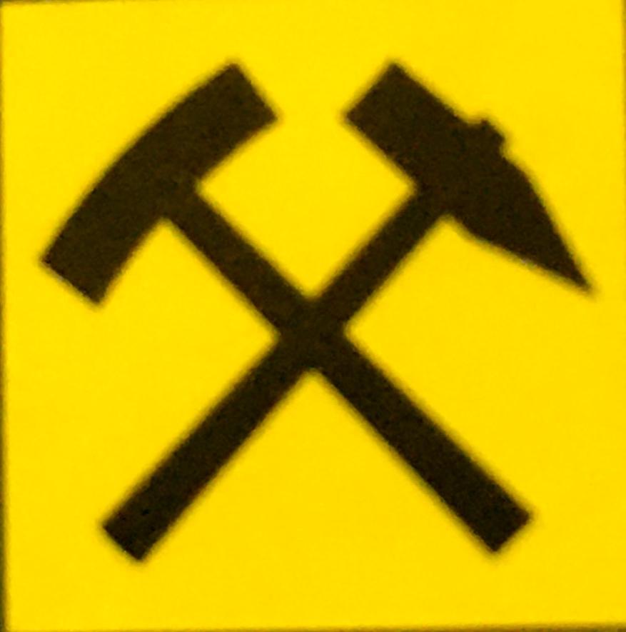 Wegsymbol Bergbauwanderweg