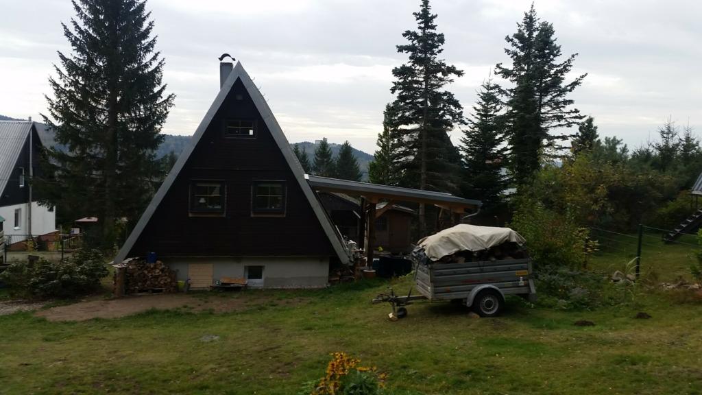 Finnhütte am Geiersberg
