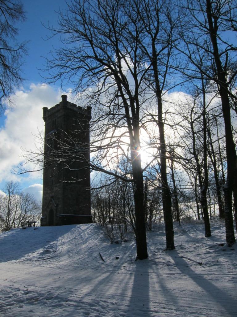 Bismarckturm auf dem Gipfel des Domberges