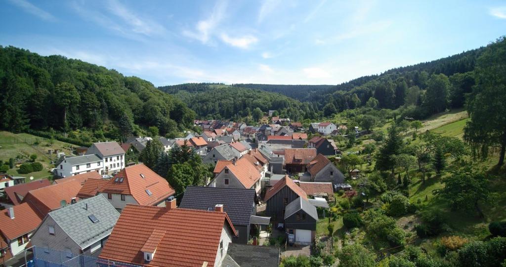 Blick auf den Ortsteil Goldlauter