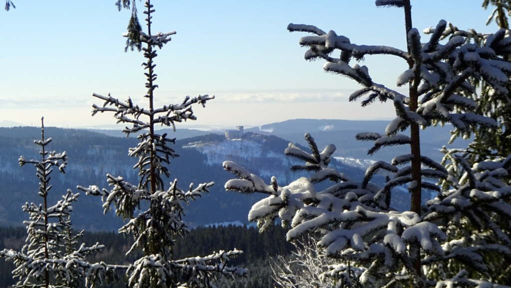 Blick vom Rosenkopf auf den Ringberg