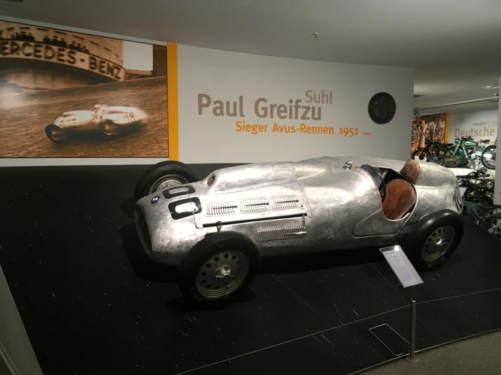 Das legendäre Auto von Paul Greifzu, einem berühmten Sohn der Stadt Suhl