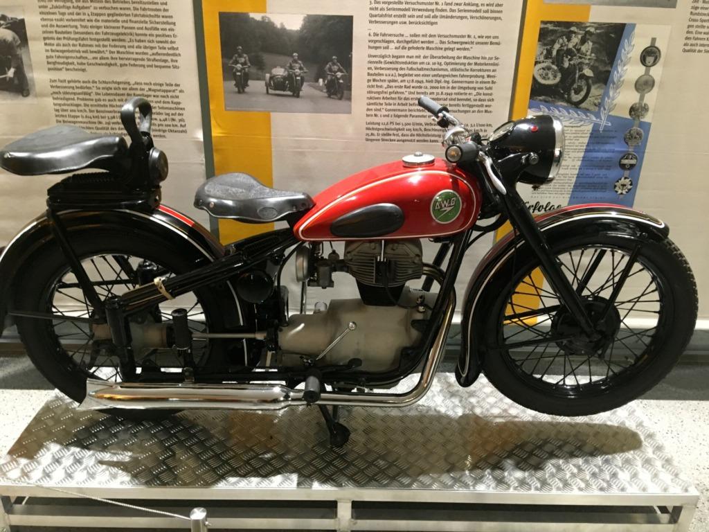 Die AWO - Motorrad gebaut in Suhl