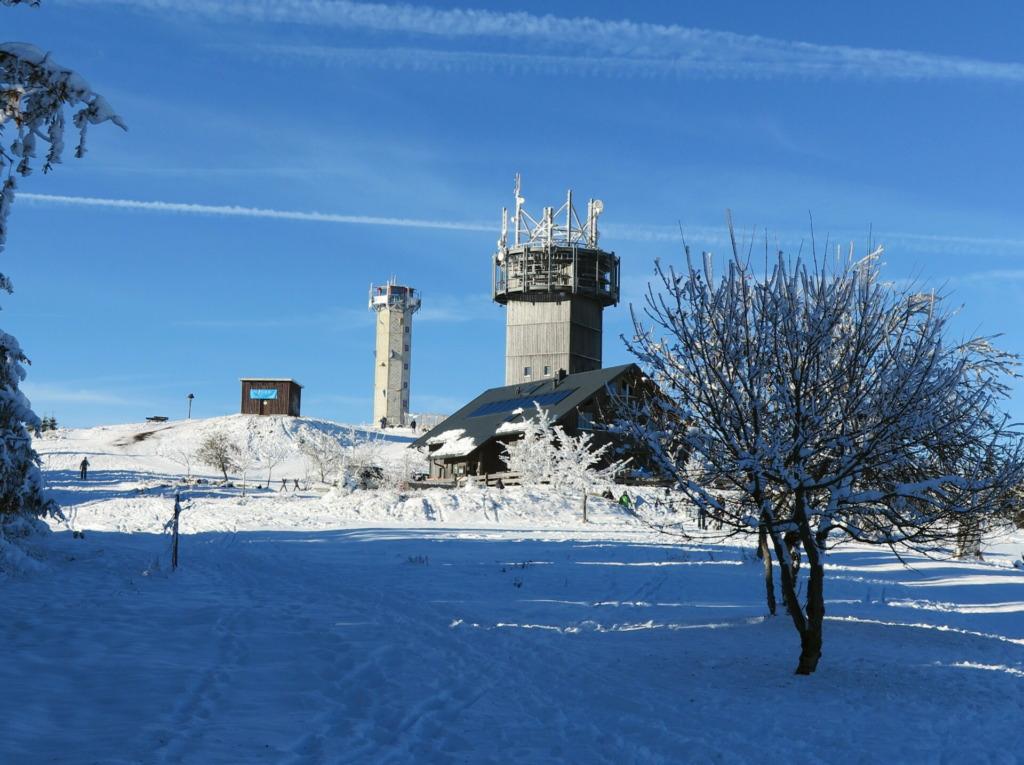 Gehlberger Hütte im Winter