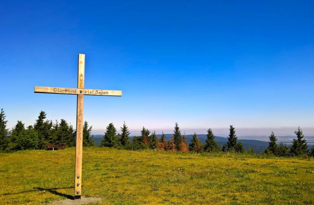 Gipfelkreuz auf dem Schneekopf