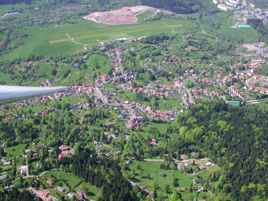Goldlauter-Heidersbach aus der Vogelperspektive