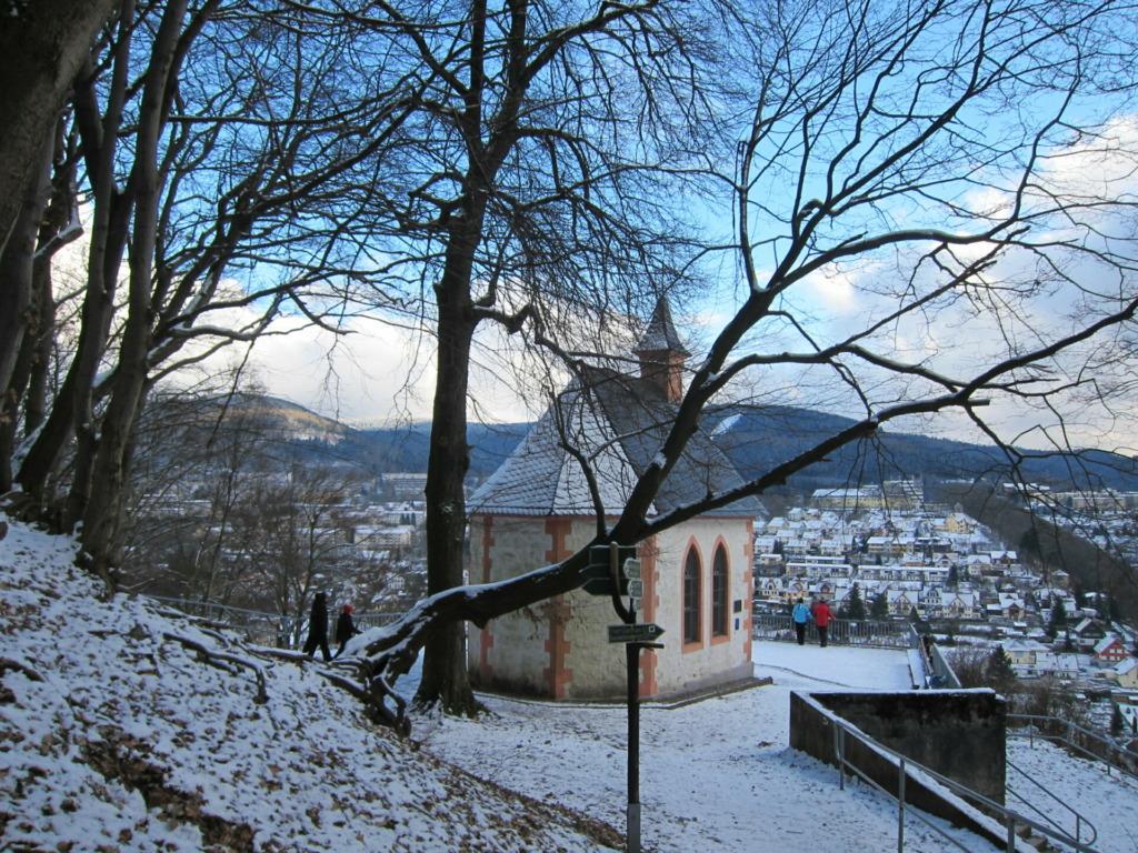 Ottilienkapelle mit herrlichem Panoramablick auf die Stadt