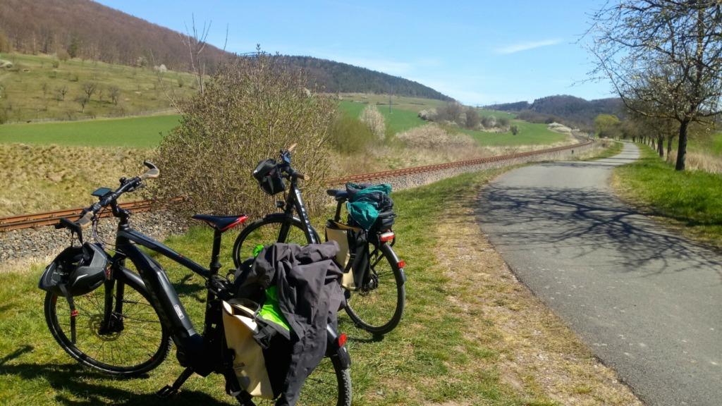 Pause am Radweg