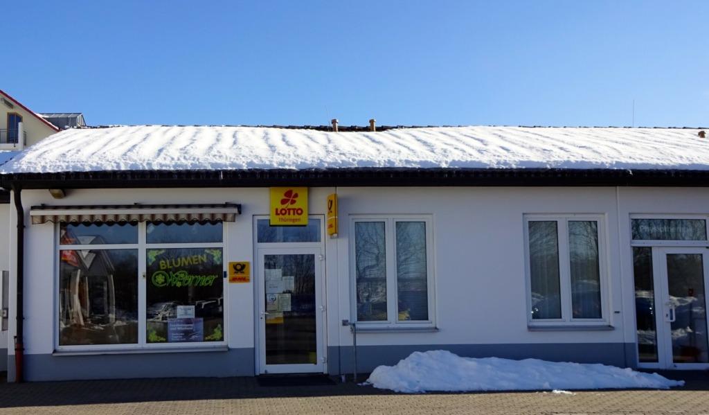 Poststelle & Blumen- und Fahrscheinverkauf ÖPNV