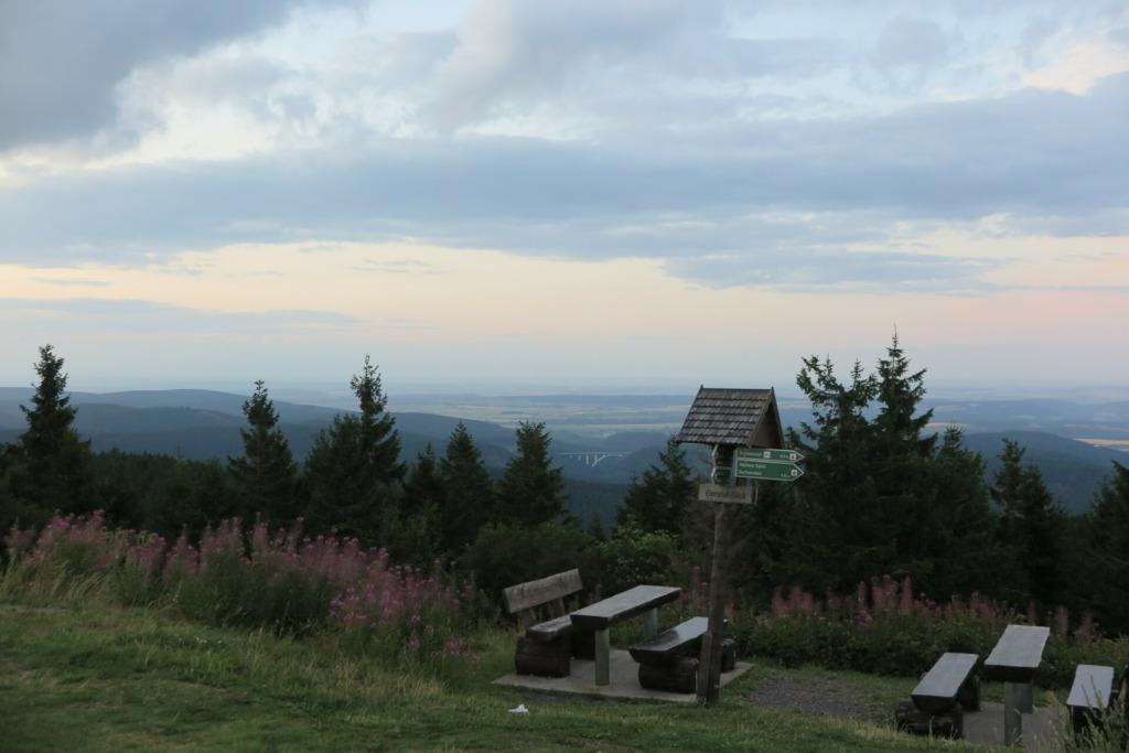 Rastplatz auf dem Schneekopf (978 m)