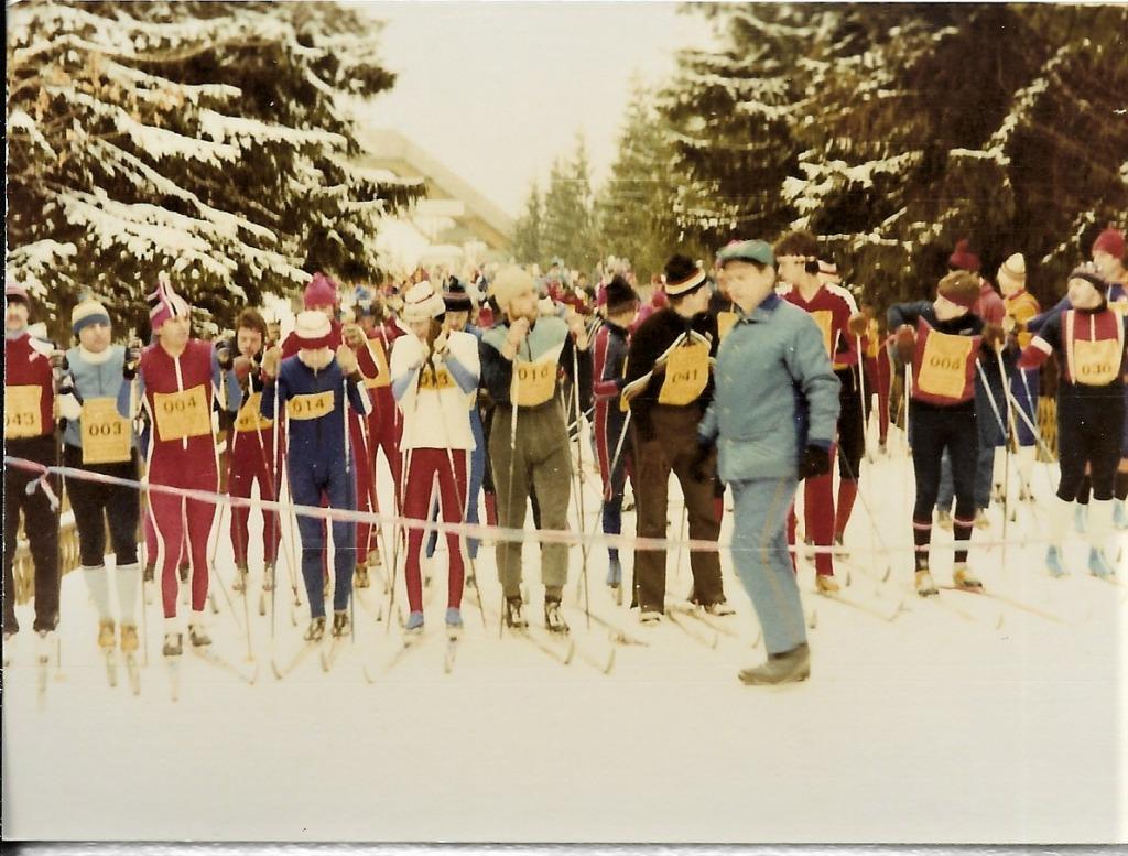 Skilauf in den 70er Jahren