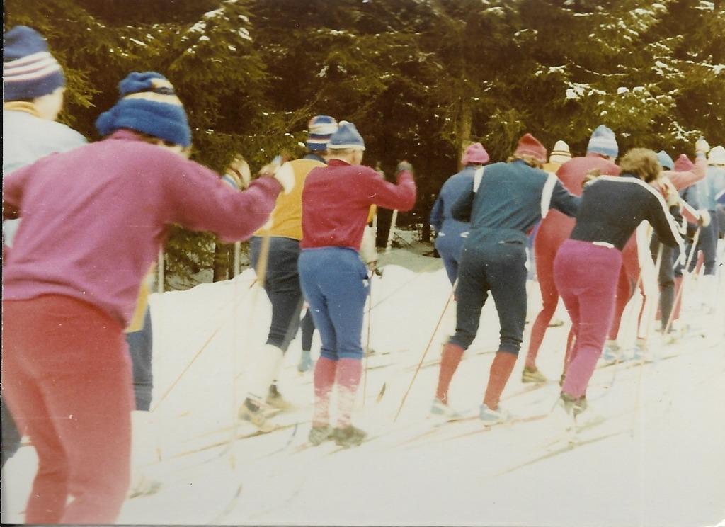 Skilauf in den 70er