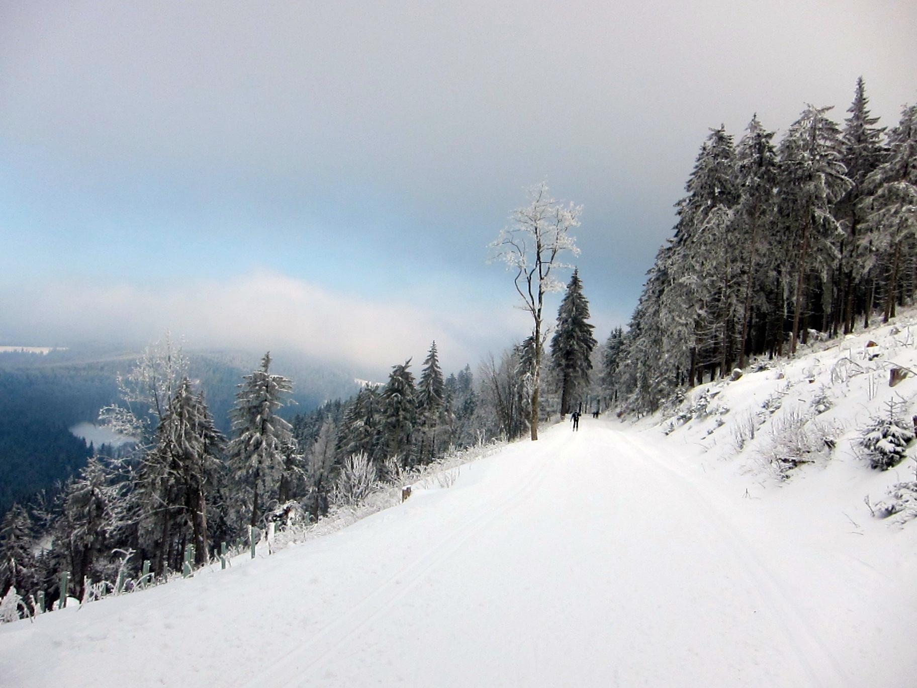 Wintervergnügen am Rennsteig
